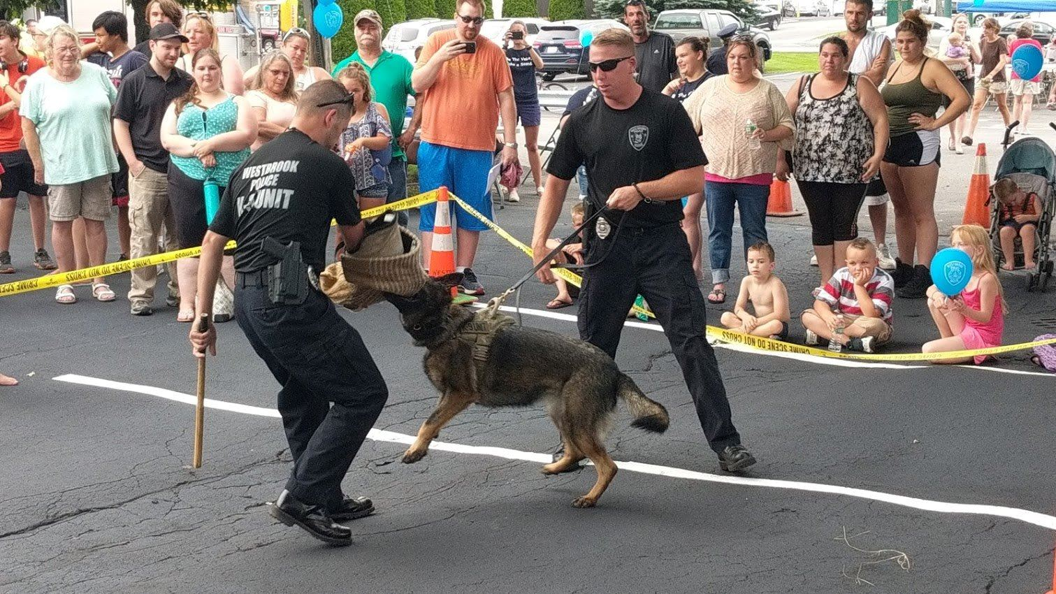 K9 demo @ National Night Out