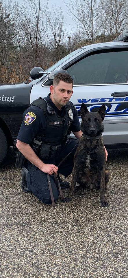 Officer Smith and K9 Cal