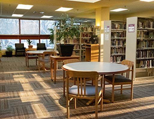 Seating Area in Library