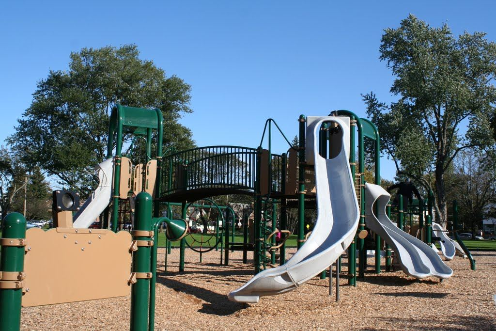 Playground at Riverbank Park